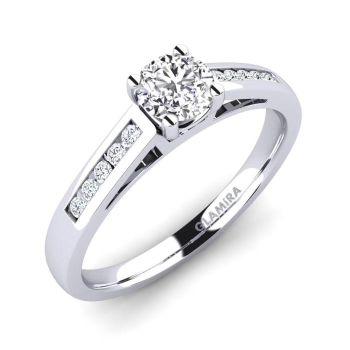GLAMIRA Ring Penelope 0.5 crt