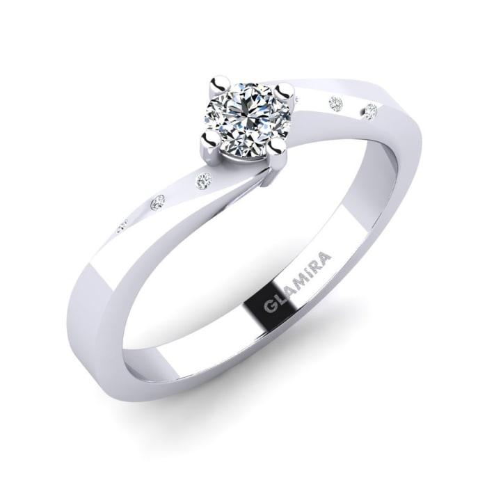GLAMIRA Ring Phillipa 0.25 crt