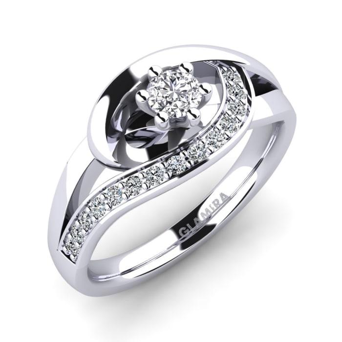 GLAMIRA Ring Trina 0.16 crt