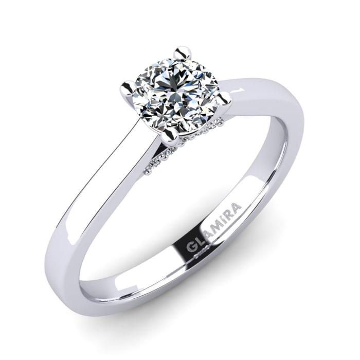 GLAMIRA Ring Violet 0.5 crt