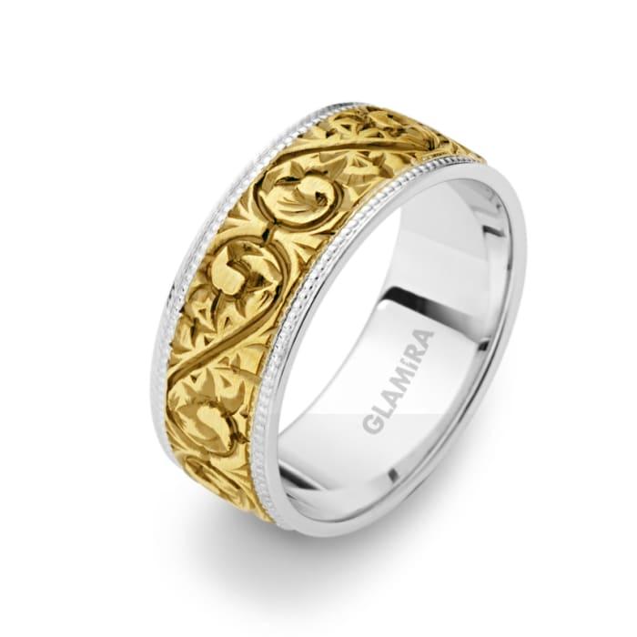 Damenring Golden Desire