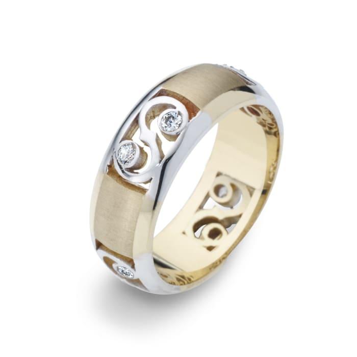 Women's Ring Golden Symbol