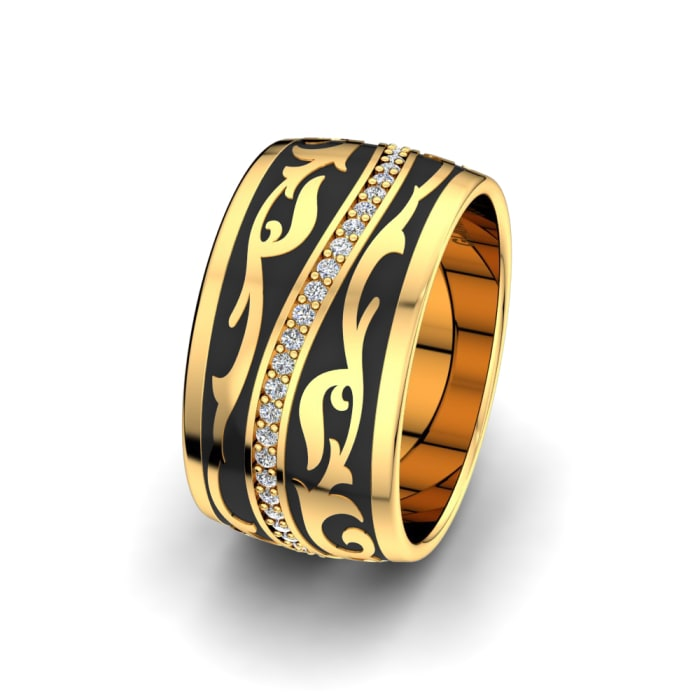 Women's ring Mystic Ashes 10 mm