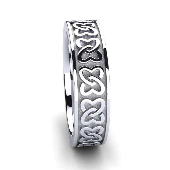 Women's ring Celtic Shamrock