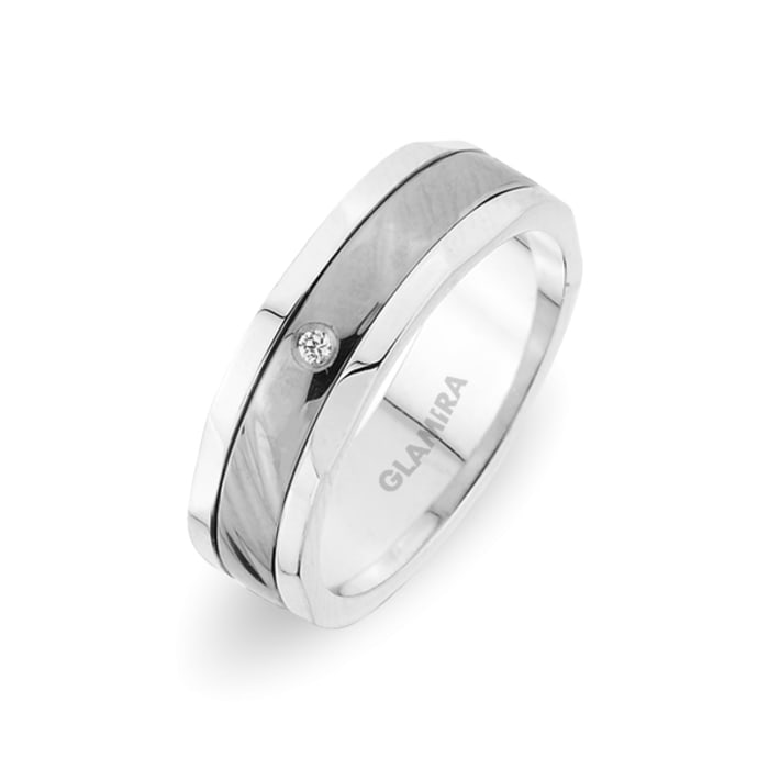 Women's ring Alluring Ribbon