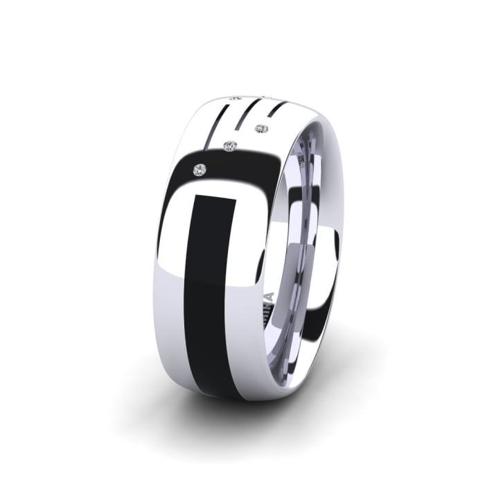 Women's Ring Confident Butterfly 8 mm