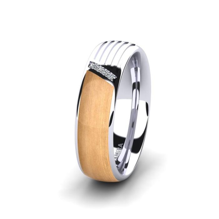 Women's Ring Confident Mirror 6 mm