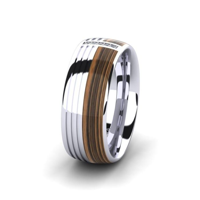 Women's Ring Confident Nature 8 mm