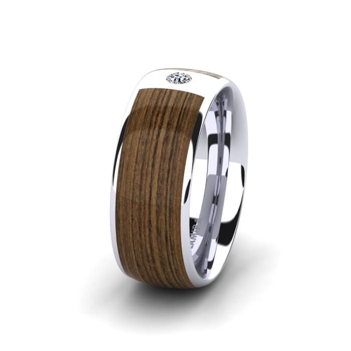 Women's ring Peaceful Step 8 mm