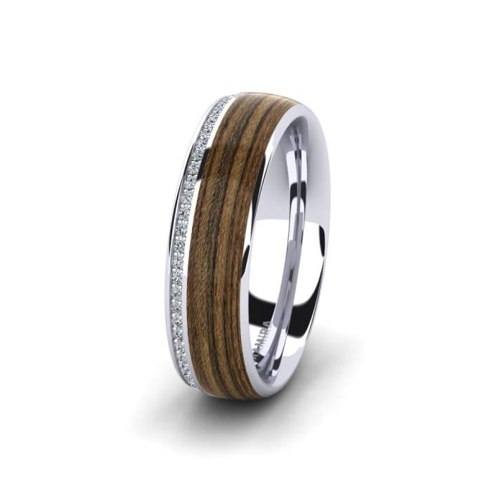 Women's ring Peaceful Twinkle 8 mm