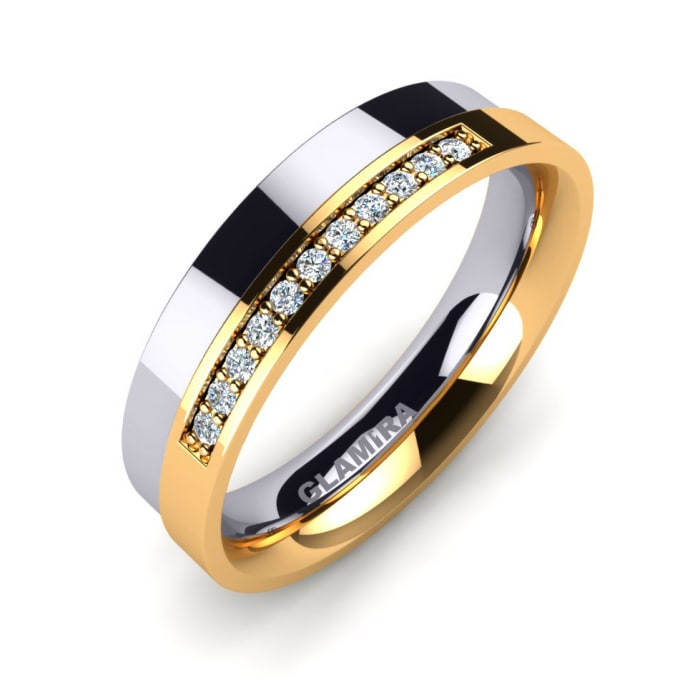 Women's ring Unvarnished Style
