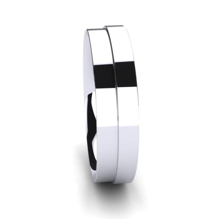 Men's Ring Unvarnished Pair