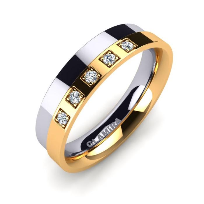 Women's ring Unvarnished lüxury