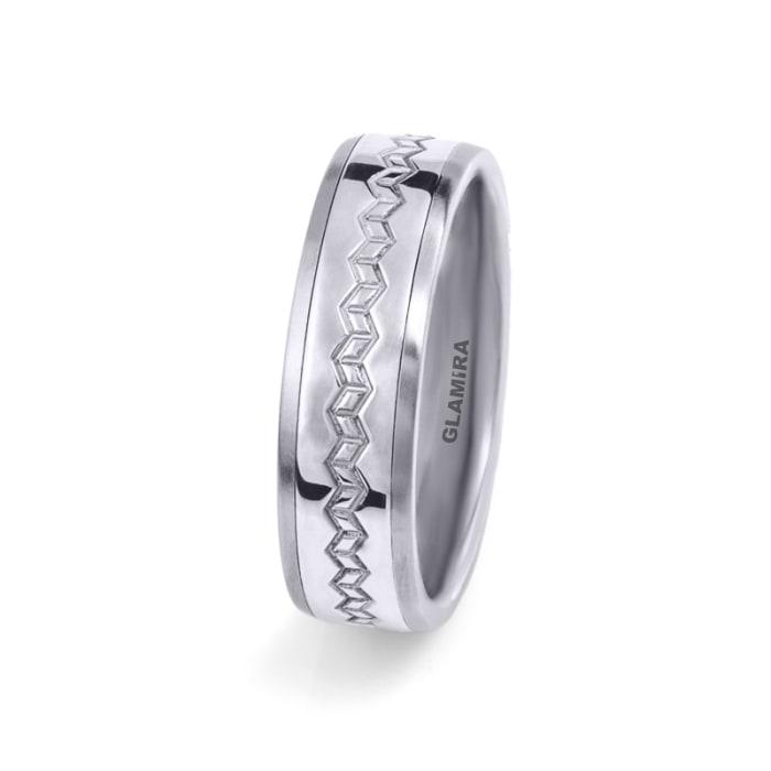 Muški prsteni Steely Weave