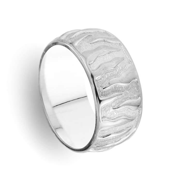 Men's ring Fantastic Ribbon