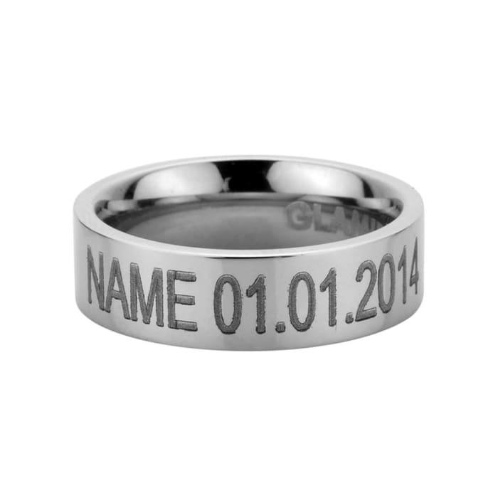 Мъжки пръстен Ring white