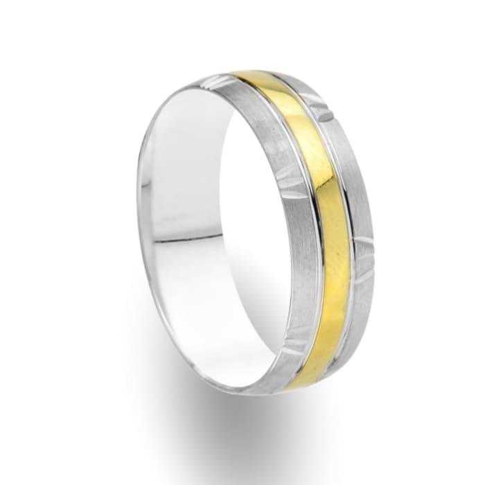Men's ring Embrace Burn