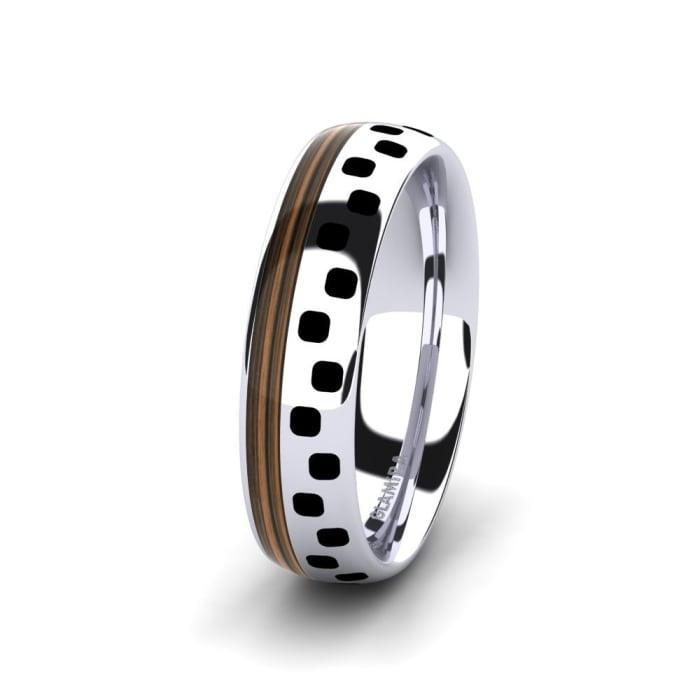 Men's Ring Confident Blaze 6 mm