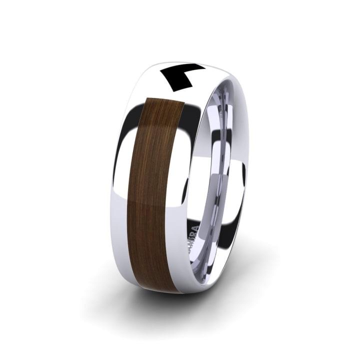 Men's Ring Confident Heart 8 mm