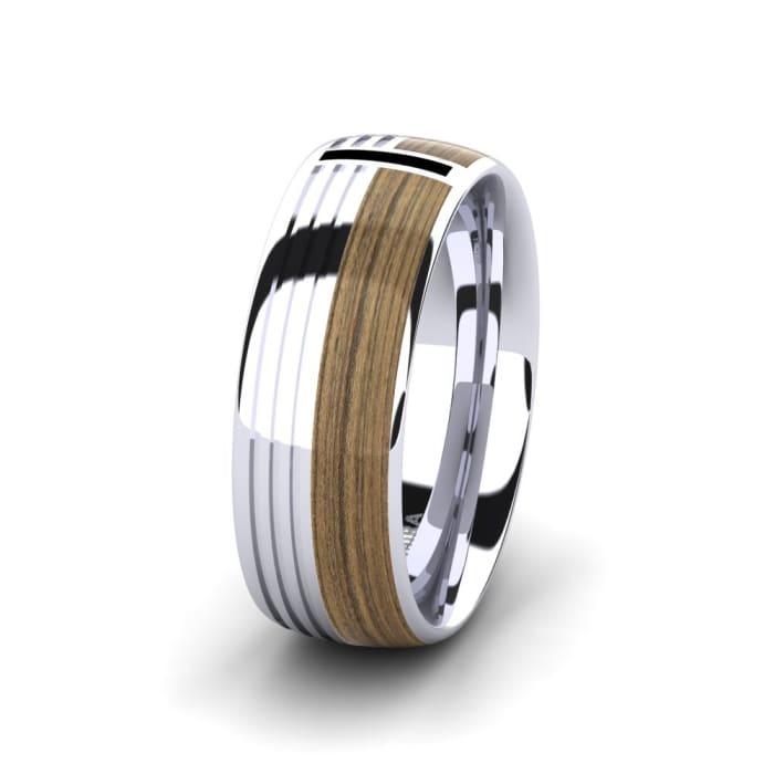 Men's Ring Confident Nature 8 mm