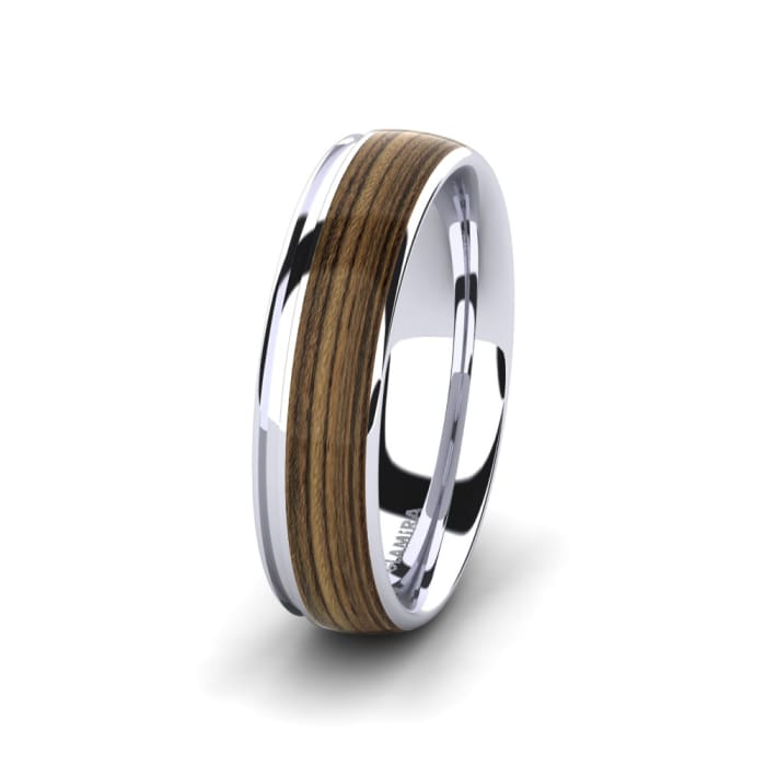 Men's Ring Peaceful Twinkle 8 mm