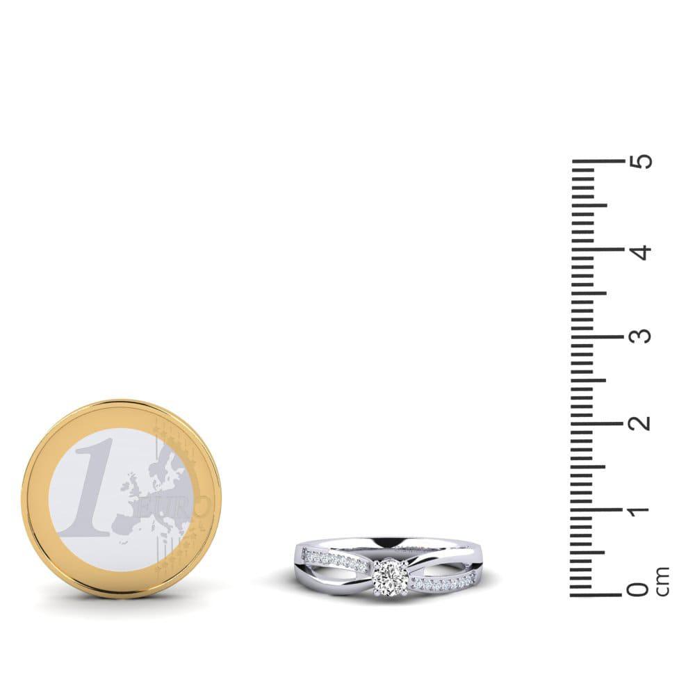 talla única Qudo lujo brazalete con swarovski piedras 8 mm de ancho ROSÉGOLD