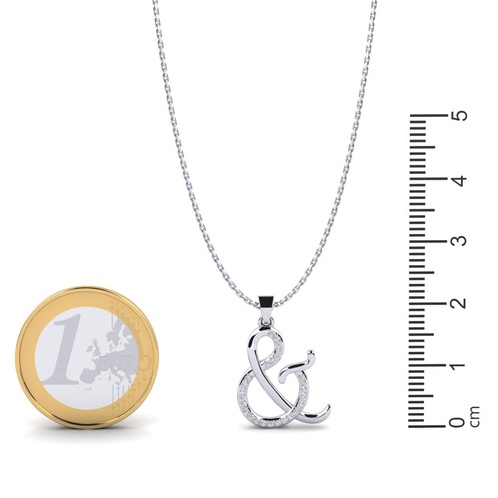 Mens Gold-and-Rhodium-Plated Sterling Silver Round Cut Cubic Zirconia Snake Serpent Pendant 2.00 x 1.20