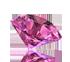 Ružový topaz