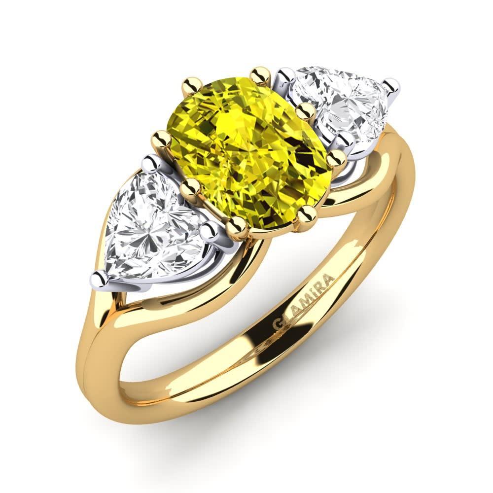 GLAMIRA Gyűrű Aquene