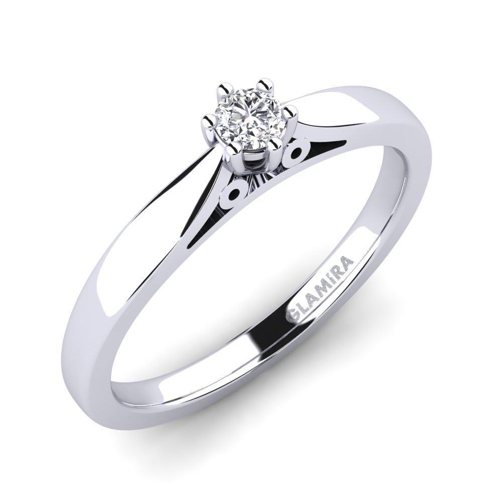 GLAMIRA Ring Bridal Glory 0.1crt