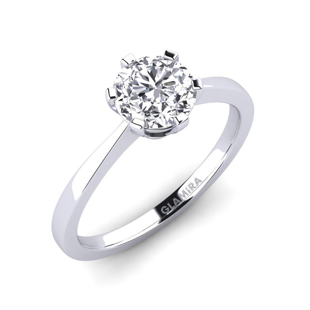 GLAMIRA Bague Bridal Rise 1.0crt