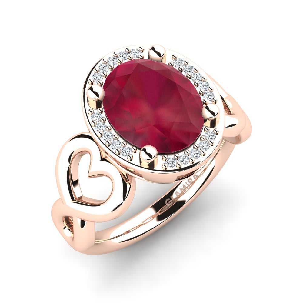 GLAMIRA Gyűrű Brikena