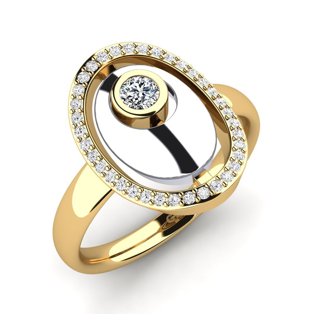 GLAMIRA Ring Crisantemo