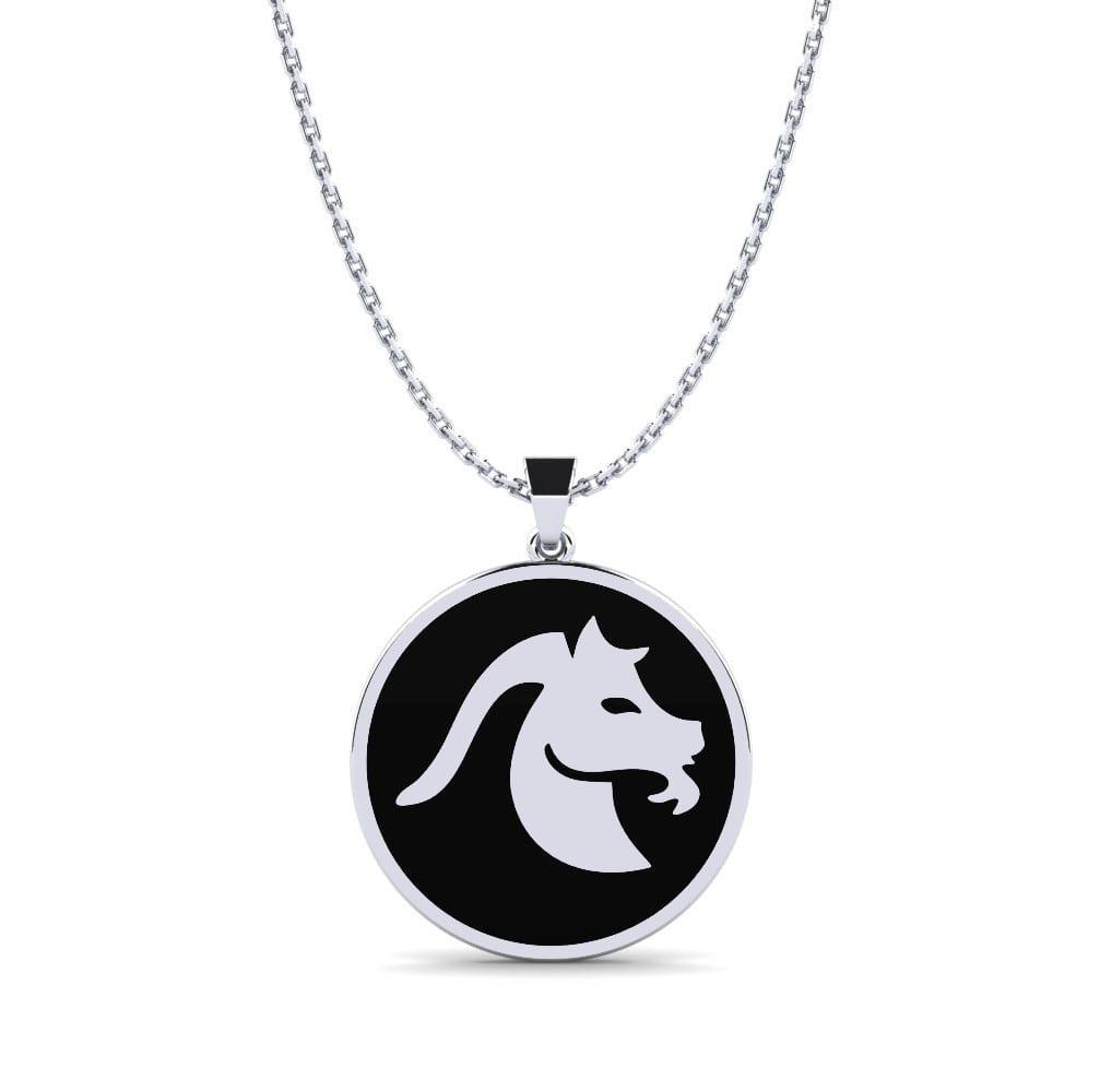 GLAMIRA Horoskop-Halskette Ferne - Steinbock