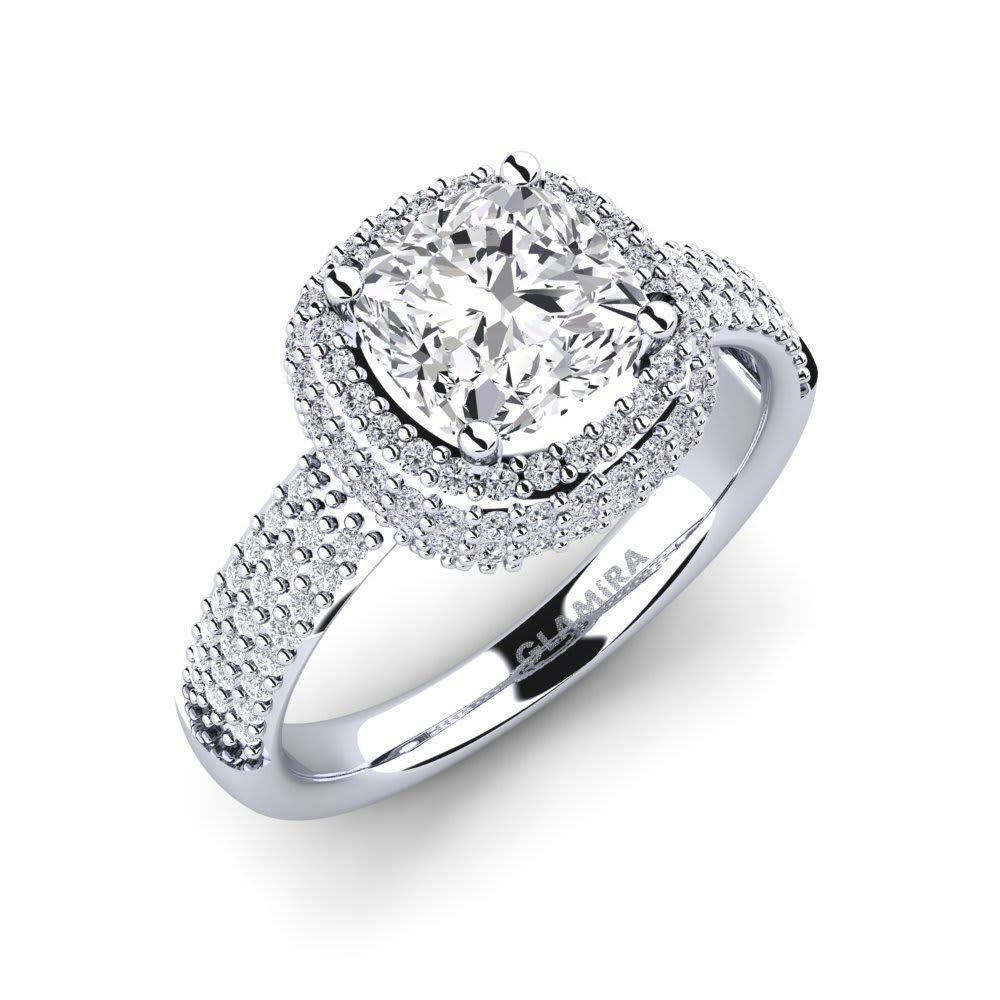 ba4b0d1b0 375 White Gold Diamond & Swarovski Crystal Diamond