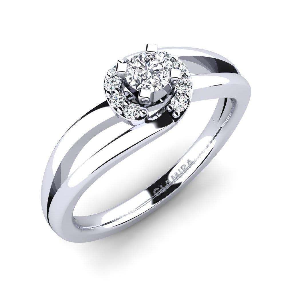 GLAMIRA Žiedas Kylie 0.16 crt