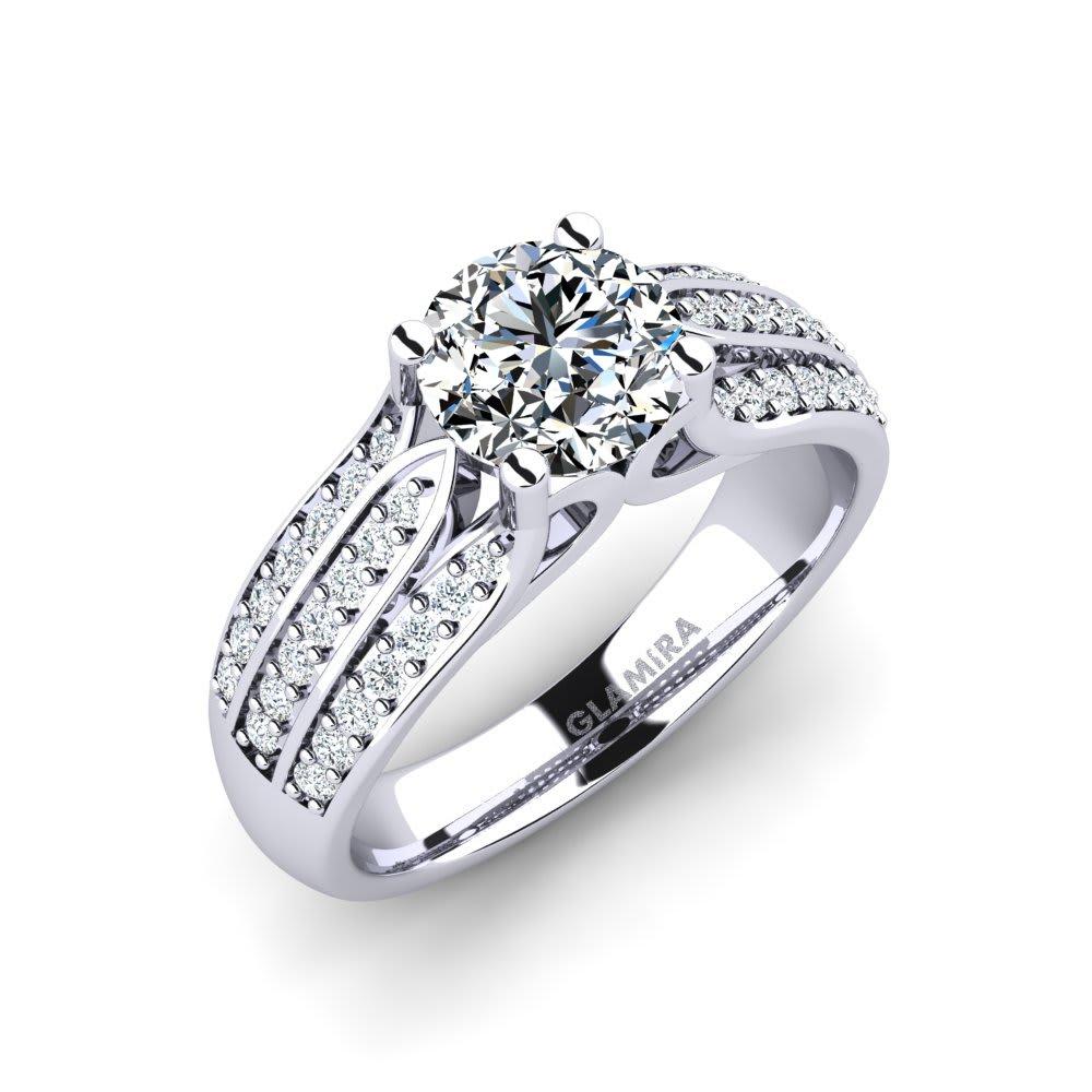 GLAMIRA Ring Agatha 1.00 crt