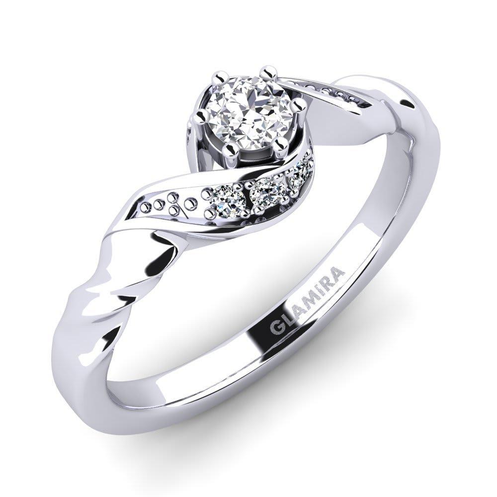 GLAMIRA Ring Leona 0.16 crt