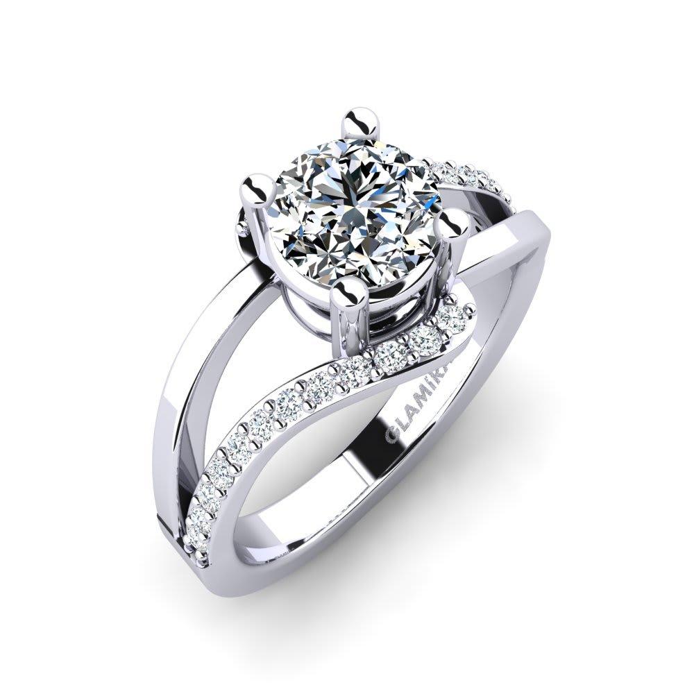 GLAMIRA Ring Bernarda 1.0 crt