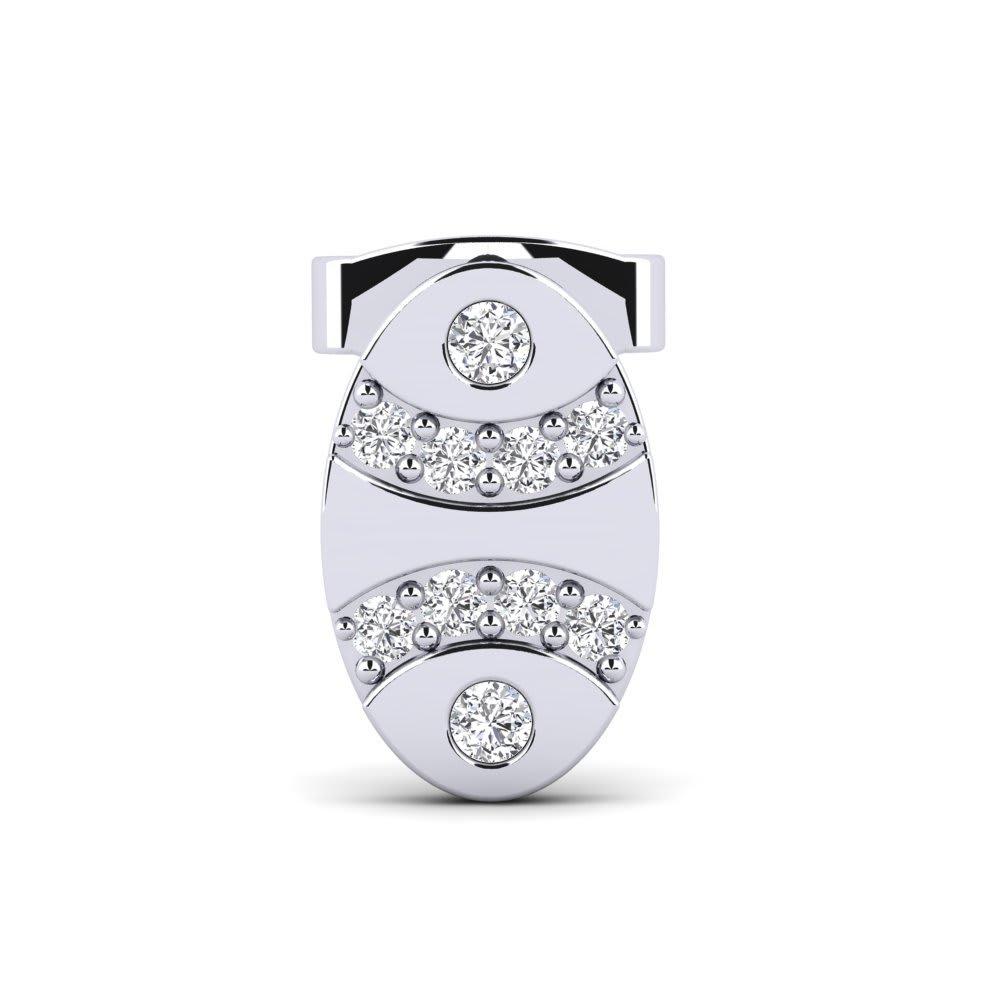 GLAMIRA Men's Earring Ovis