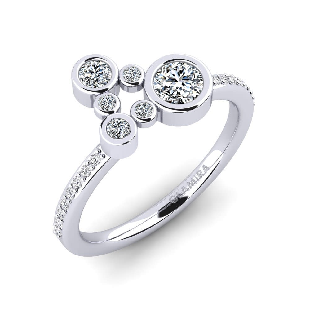 Fine Jewellery Lower Price with Green Quartz 925 Sterling Silver Ring Size Jewelry Kr11 Fine Rings