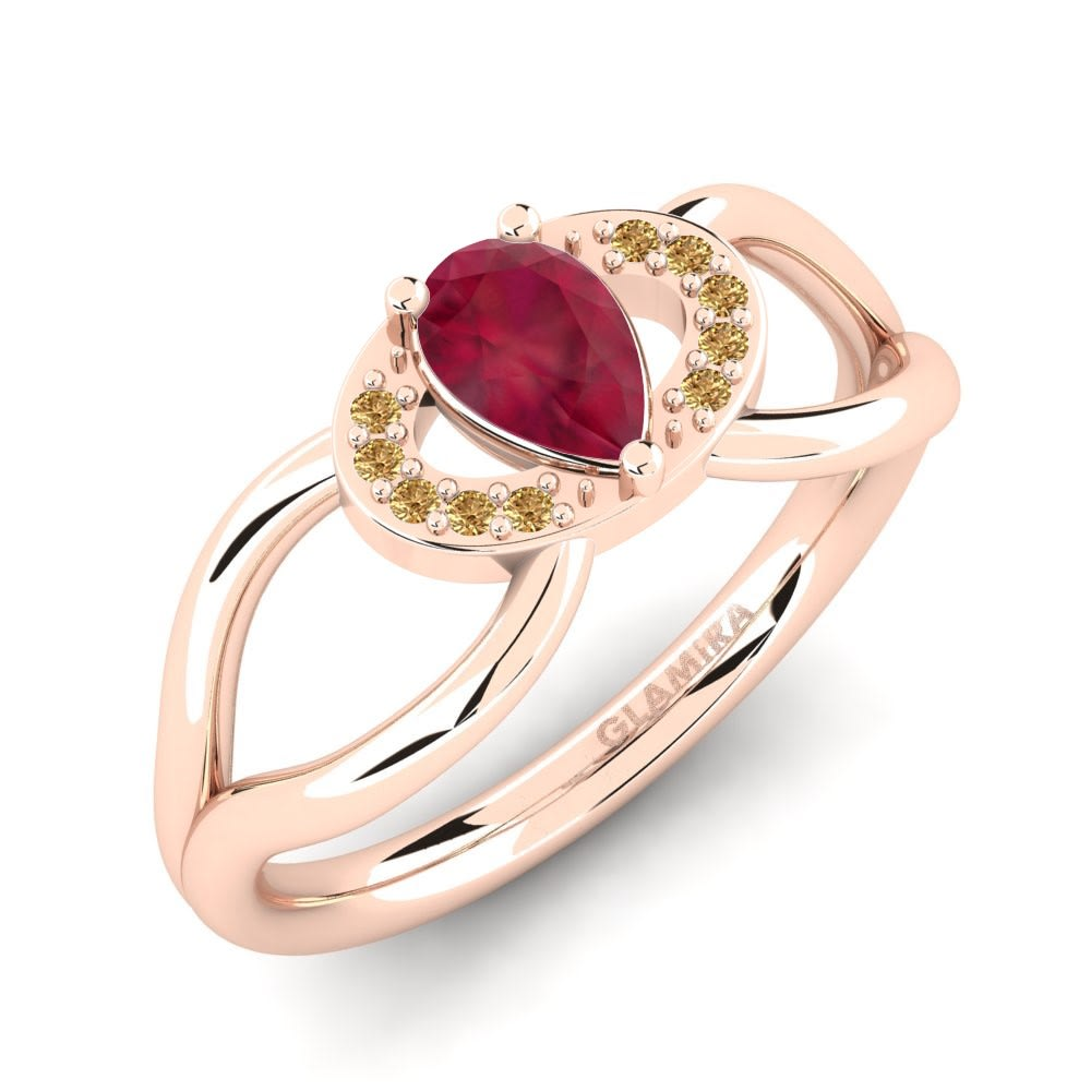 Natural Pave Diamond Jewelry Natural Ruby Gemstone 925 Sterling Silver ring Gifts for her Birthday gifts Surprise Gift Proposal