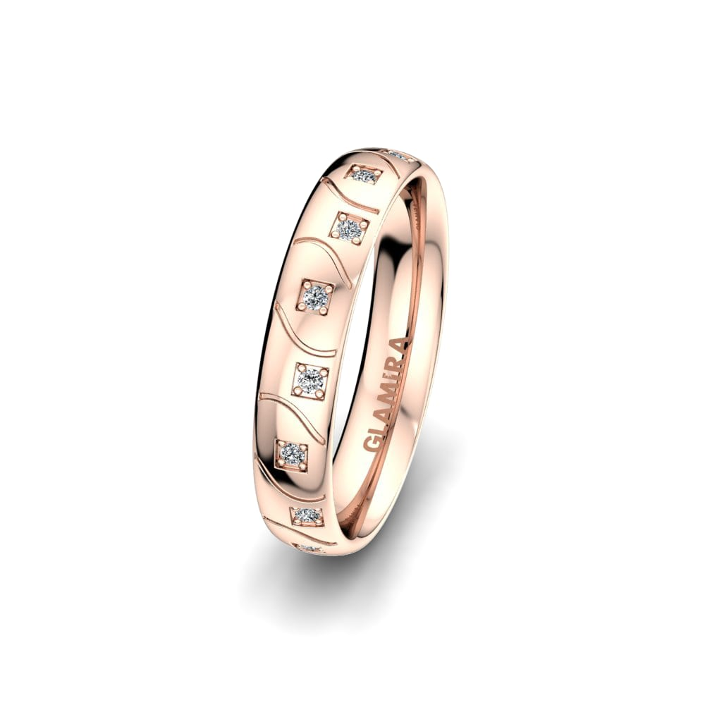 Women's Ring Alluring Light 4 mm