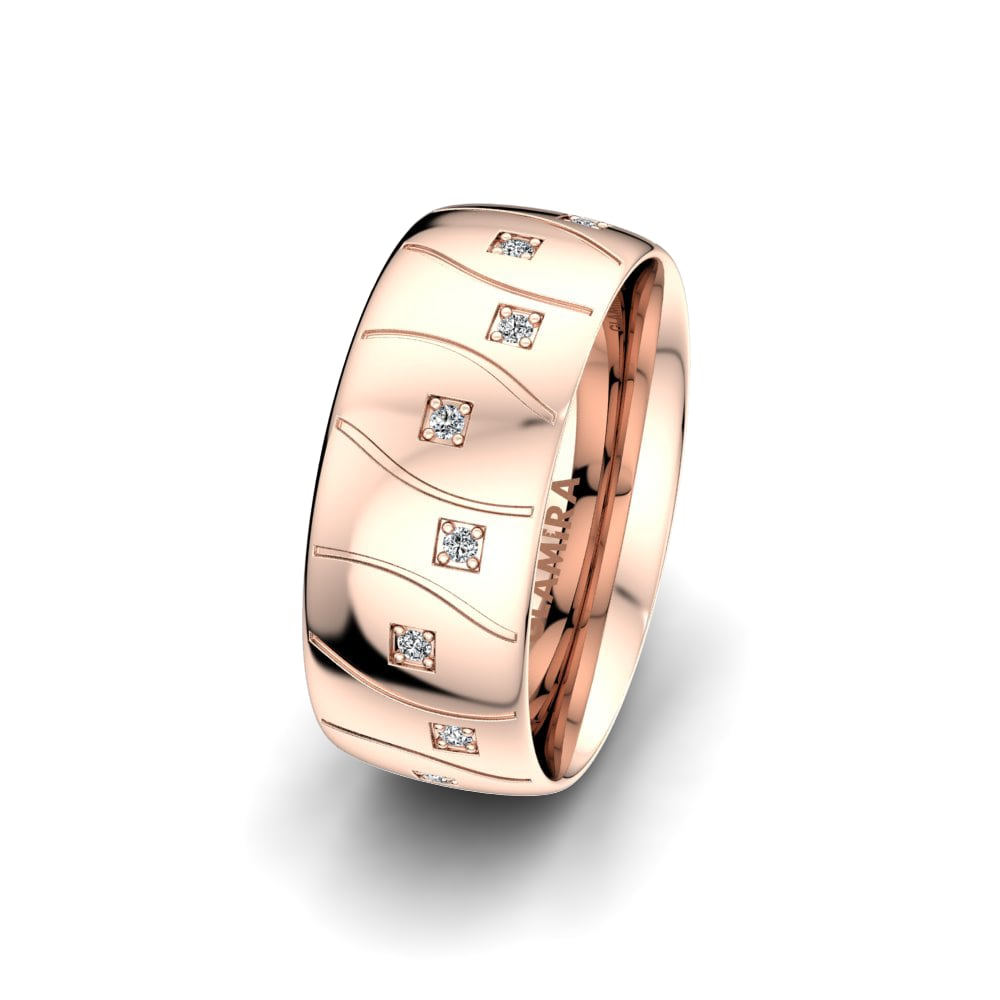 Women's Ring Alluring Light 8 mm