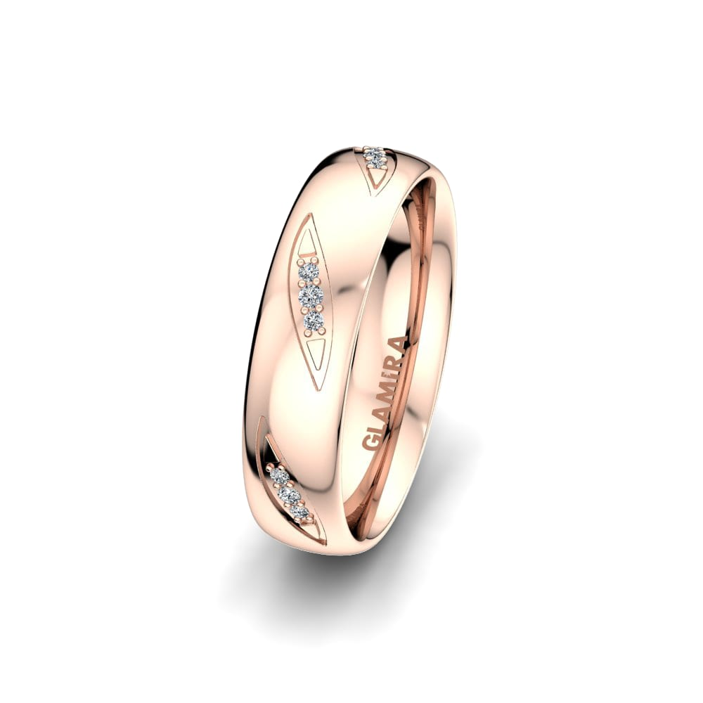 Women's Ring Fever Letter 5 mm