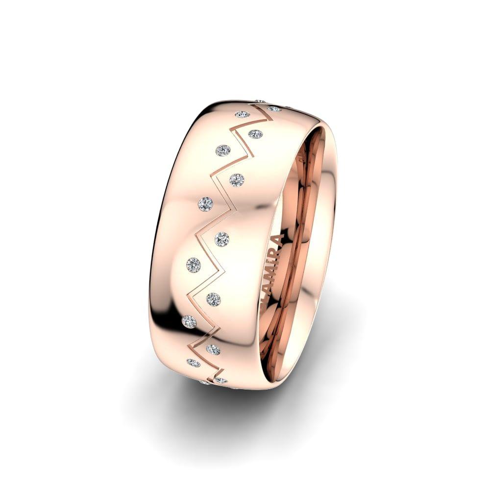 Ženski Prsten Unique Harmony 8 mm