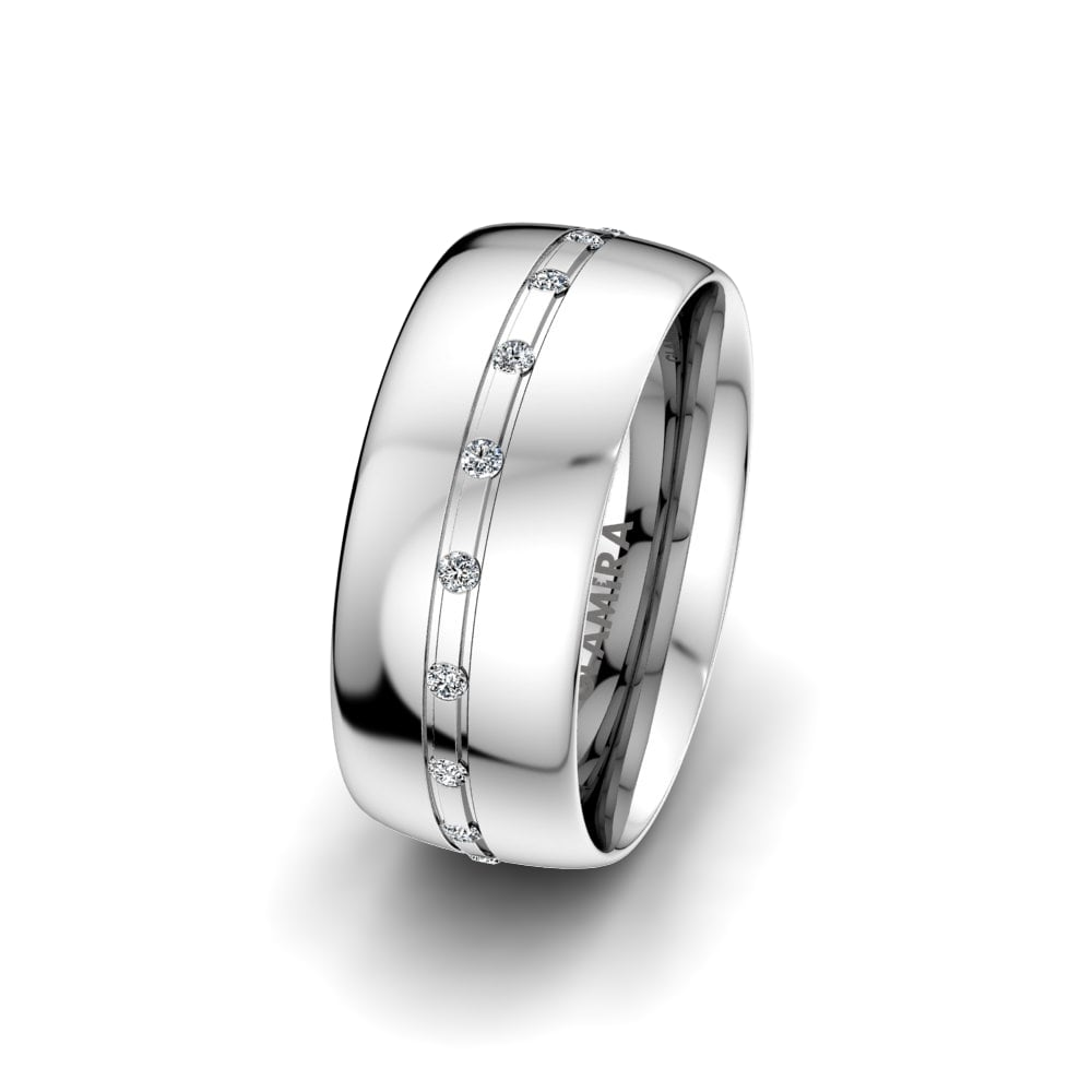 Women's Ring Essential Route 8 mm