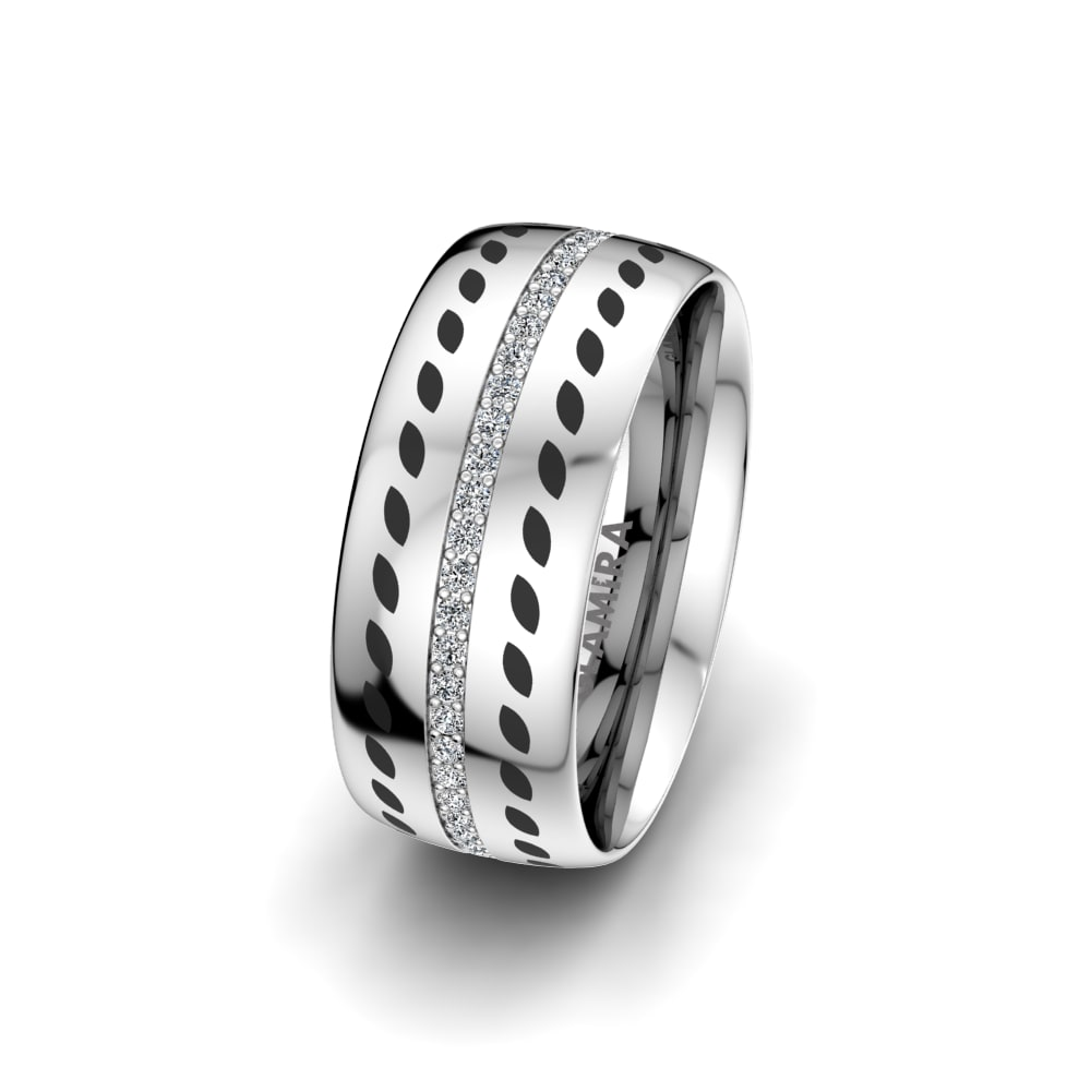 Women's Ring Immortal Sparkle 8 mm