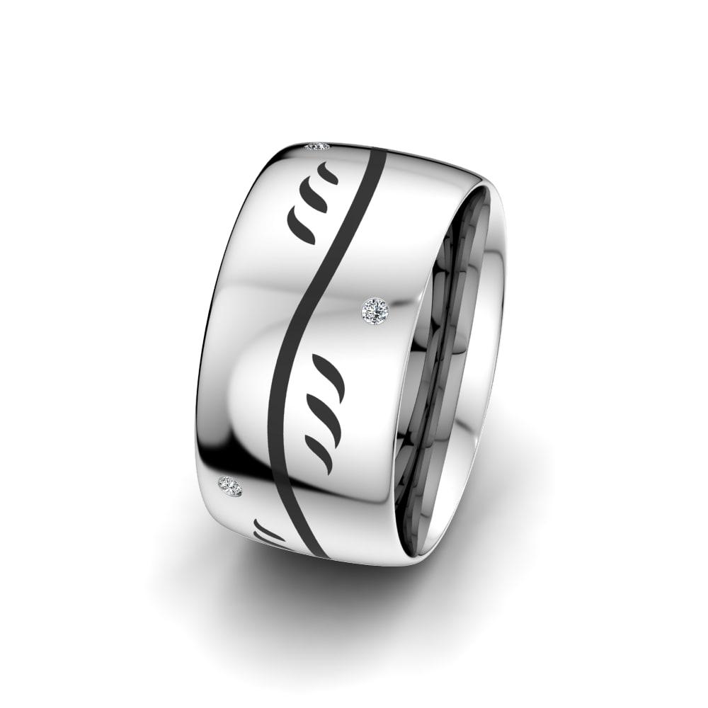 Women's Ring Essential Flower 10 mm