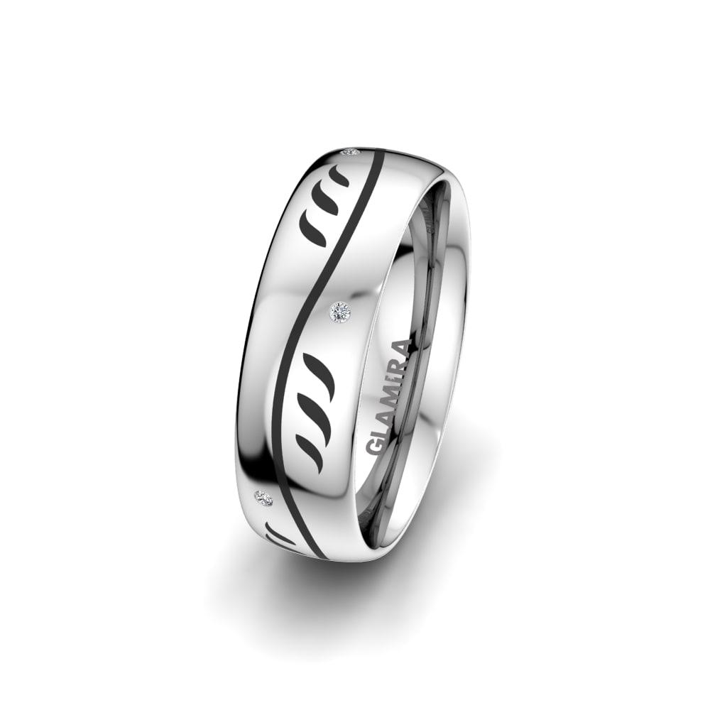 Women's Ring Essential Flower 6 mm